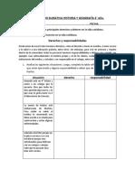 Evaluacion Historia y Geografía 4