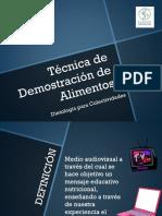 Técnica de Demostración de Alimentos.pdf