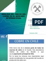 Analisis Precio Del Cobre Chile