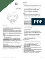 Manual instalacion Detector de Humo Edwards