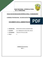 Documento en El Administracion Publico