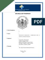 Analice La Institucionalidad a Nivel Regional, Provincial y Distrital Ok