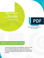 Maestria en Educación Virtual