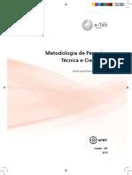 Metodologia Pesquisa Tecnica Cientifica CONTABILIDADE-IfSUL