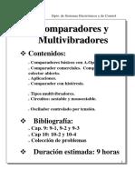 Comparadores y Multivibradores