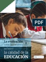 Publicacion - La Evaluacion Como Herramienta Para Mejorar La Calidad de La Educacion