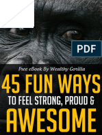 45 Fun Ways to Feel Strong Proud & Awesome