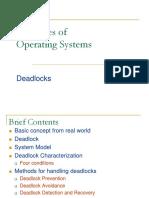 Chapter 6 (Deadlock)