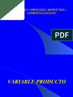Marketing Variable Produto1