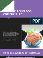 Tipos de Acuerdos Comerciales
