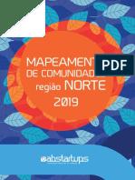 Mapeamento das comunidades digitais de Região Norte