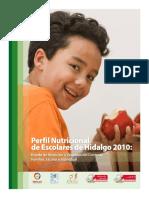 Libro -Perfil Nutricional de Escolares de Hidalgo 2010