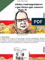 César Urbano Taylor - 10 Caricaturistas Contemporáneos Venezolanos Que Tienes Que Conocer, Parte II