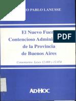 Lanusse Pedro Pablo - El nuevo foro contencioso administrati.pdf