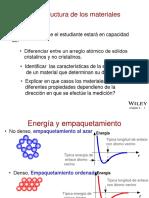Clase 2. Estructura Cristalina y Defectos (1)