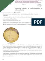 Ch 2 Globe Latitudes Longitudes Part 3