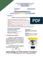 TRABAJO DE LABORATORIO Nº 03 El Diodo Semiconductor y Sus Aplicaciones (Vf)- 14 Julio 2019