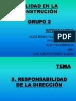 Responsabilidad de La Dirección1111