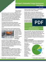 Michigan energy assessment fact sheet
