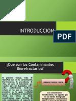 contaminantes biorefractarios
