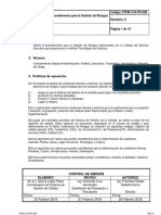 Itpac CA Po 006 Gestion de Riesgos r0