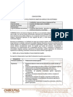 Ampliaciación - Convocatoria Facilitador (a) de Campo Agricultura