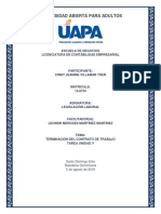 Legislación Laboral - Tarea Unidad V