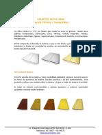 Catalogo Cielo Raso PVC Sistema Machimbrado