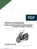 Carnaby 125 service manual