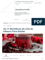 → Os 11 Benefícios do Chá de Hibisco Para Saúde! 【ATUALIZADO】