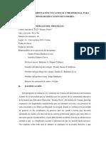 Programa de Orientación Vocacional
