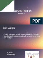 Inclusive Fashion