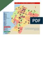 Mapa Ecuador Etnias Lenguas Lenguaje Idiomas