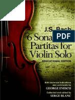 Bach partitas e sonatas violino solo