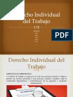 Derecho Individual Del Trabajo