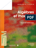 Ibrahim Assem - ALGEBRES ET MODULES. Cours Et Exercices-Dunod (1997)