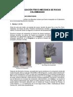 Caracterización Físico-mecánica de Algunas Rocas Metamórficas Colombianas