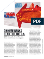 Chinese Banks Head for the U.S.