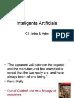 IA c1 Intro & Adm