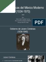 Características Del México Moderno (1)
