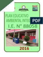 plan educativo ambiental