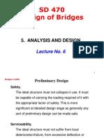 SD 470 DESIGN OF BRIDGES