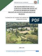 Informe Localidad de Paucar