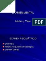 Examen Mental Para Adultos