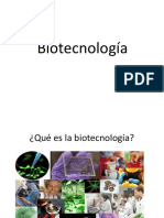 biotecnologías
