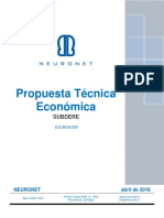 Oferta Técnica Económica CO