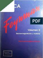 Richard P. Feynman - Fisica Volumen 2 - Electromagnetismo y y Materia (Spanish Edition) (1999, Addison Wesley Longman).pdf