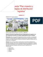 Plan Maestro y Estrategia de Distribucion Logistica