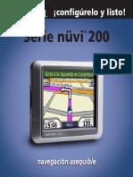 Manual Garmin Nuvi 200