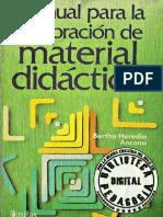 MANUAL PARA LA ELABORACIÓN DE MATERIAL DIDÁCTICO